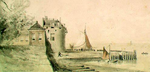 Campveerse Toren in 1885