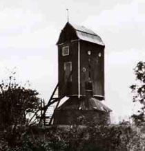 De Nieuwlandse Molen (1797) in Biervliet