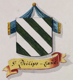Wapen van Sint-Philipsland, circa 1800