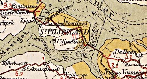 Sint-Philipsland, schakel in tramlijn Steenbergen-Brouwershaven, 1902