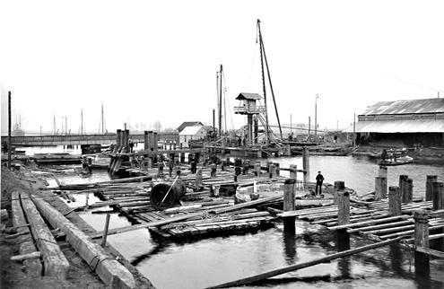 Verbeteringen aan het kanaal vonden bijvoorbeeld plaats tussen 1901 en 1908