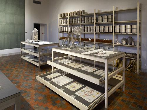 Tentoonstelling Christien Meindertsma - Vlas (Kavel Gz 59-west). (Zeeuws Museum, persfoto, foto Ivo Wennekes