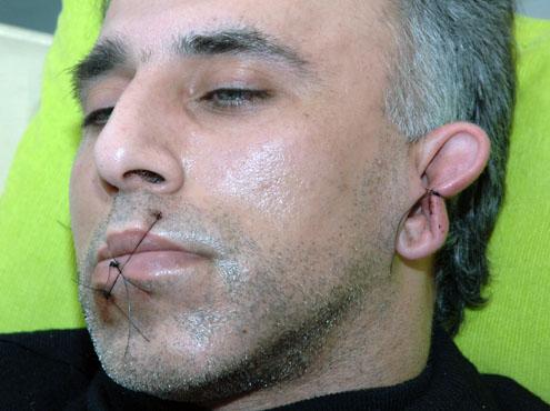 De Iraanse asielzoeker Mehdi Hooshyar