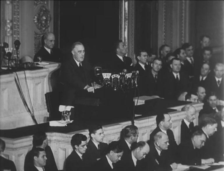 four freedoms toespraak roosevelt
