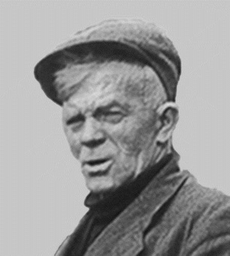 Portret van Samuel Muller (Brusea).