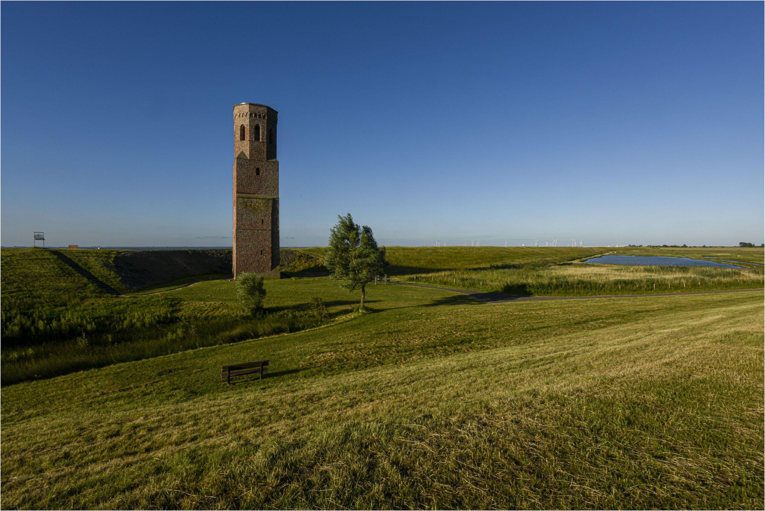 Plompe Toren (foto Ton Stanowicki, www.beeldbank.zeeland.nl).