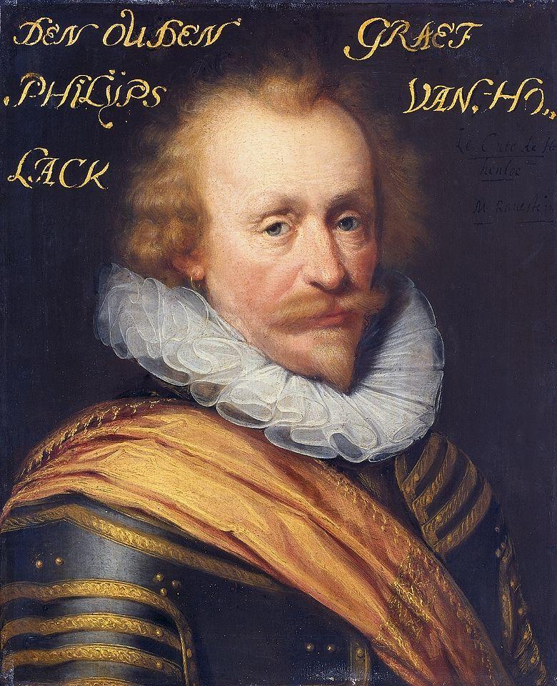 Filips van Hohenlohe, schilderij uit circa 1639-1633 (Rijksmuseum Amsterdam).