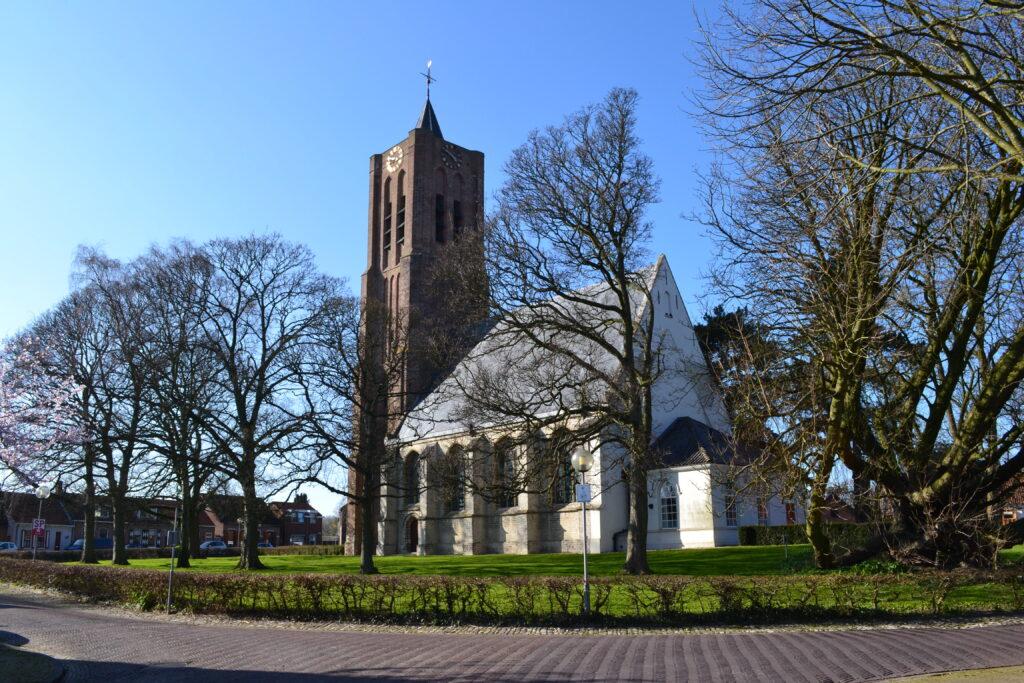De Torenring van 's-Heer Arendskerke met de Petruskerk (Erfgoed Zeeland).