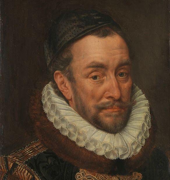Portret van Willem van Oranje door Adriaen Thomasz Key, 1579. (collectie Rijksmuseum)