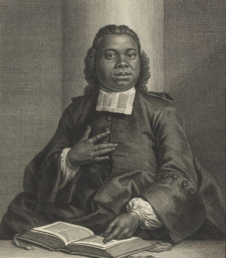 Jacobus Capitein. Schilderij door Pieter Tanjé. (collectie Rijksmuseum)