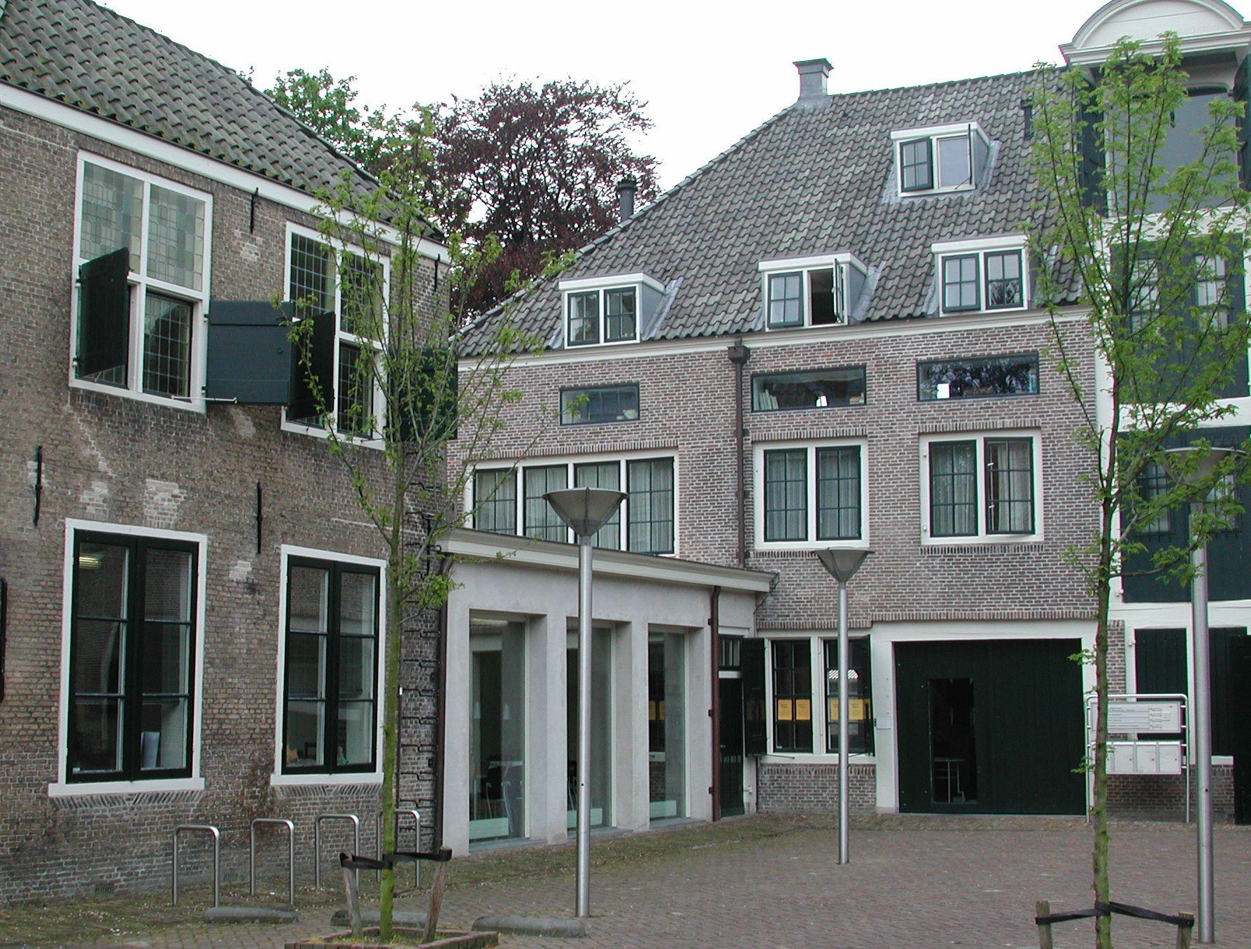 Huidige situatie van het Commerciehuis aan de Balans. (Foto CBK Zeeland)