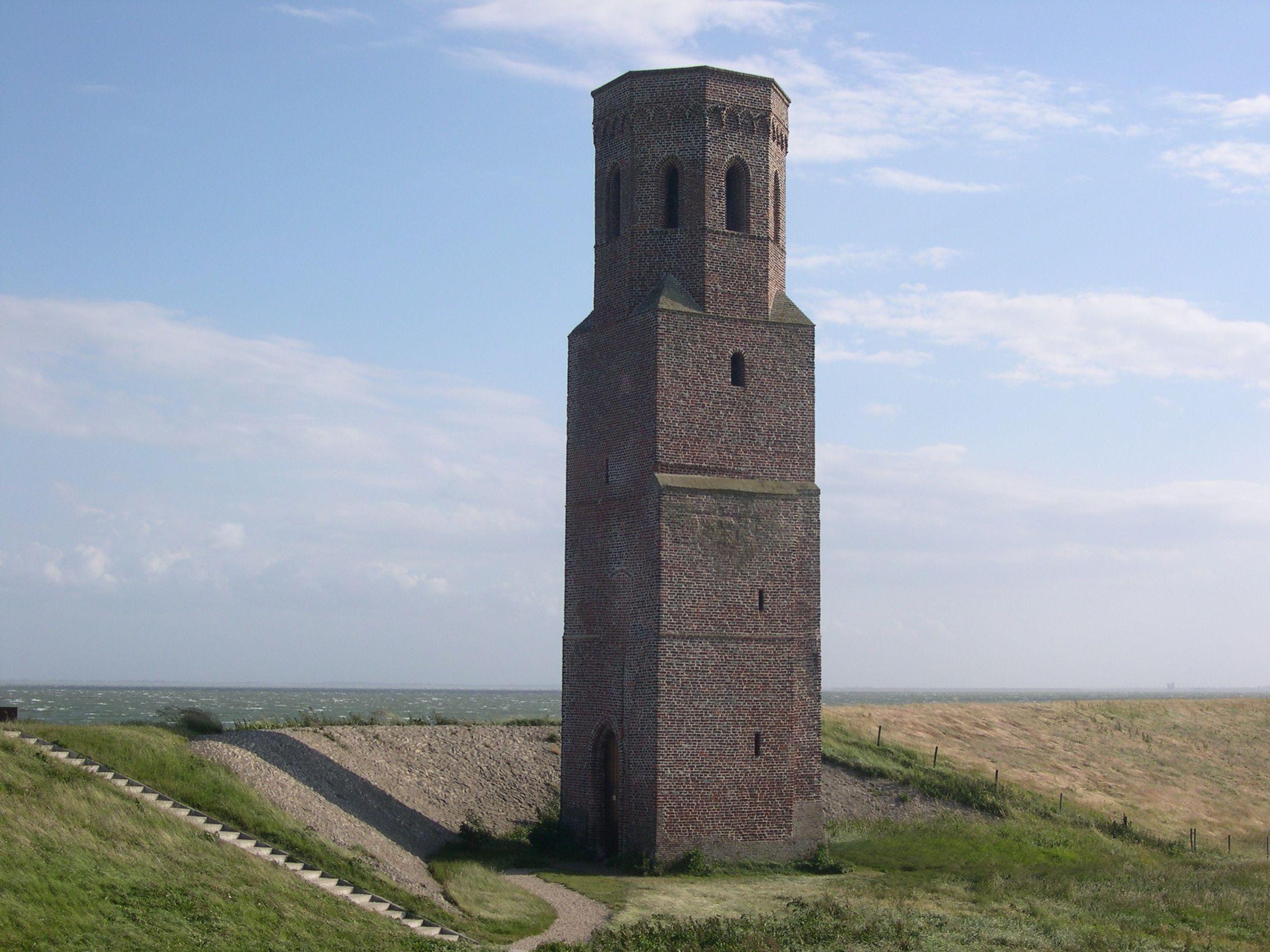De Plompe Toren bij de Koudekerkse Inlaag en de Oosterschelde. (Beeldbank SCEZ)