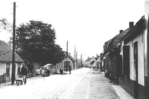 De Graaf-Jansdijk en Westdorpe in 1938. (Zeeuwse Bibliotheek, Beeldbank Zeeland)