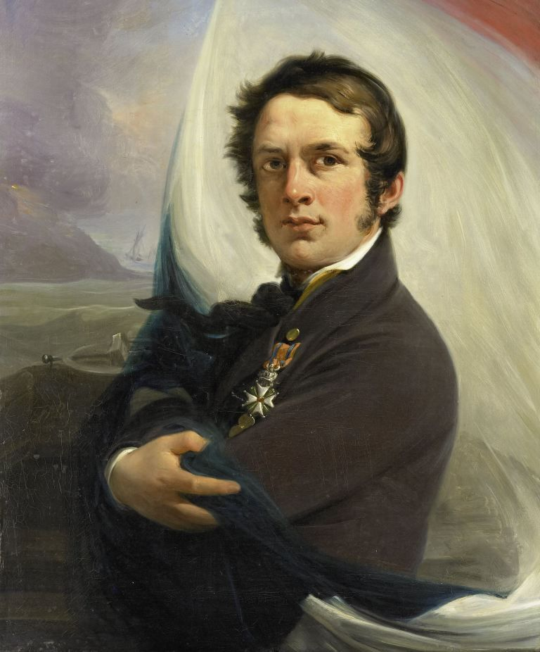 Portret van Jacob Hobein door Jan Willem Pieneman, 1832. Collectie Rijksmuseum.