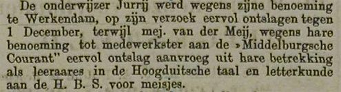 Zierikzeesche Nieuwsbode, 28 oktober 1884. (Zeeuwse Bibliotheek, Krantenbank Zeeland)