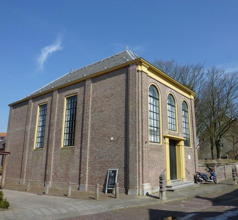 Lutherse kerk in Groede. (Foto Wikimedia)