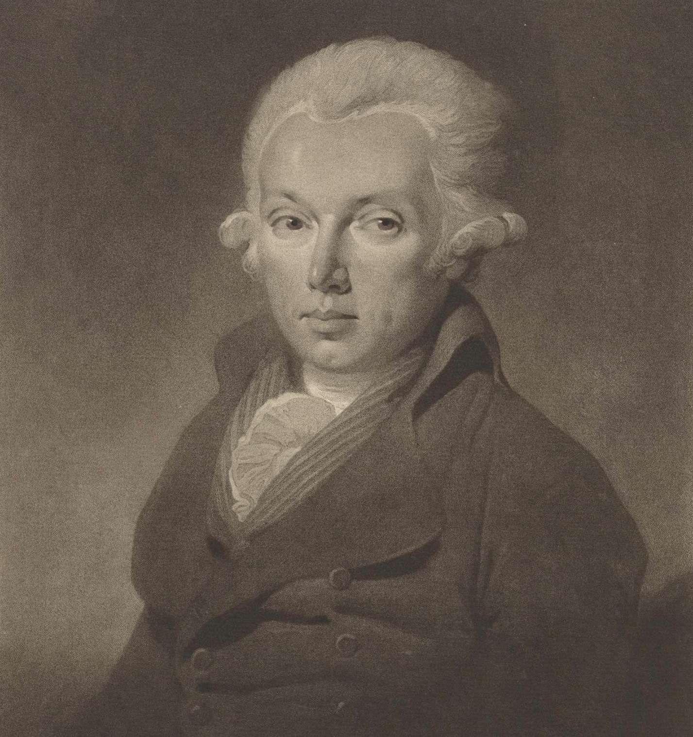 Pieter Paulus. Portret door Charles Howard Hodges, 1796. (Rijksmuseum)