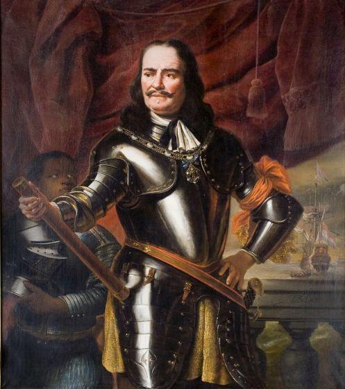 Portret van Michiel de Ruyter. Schilderij van Ferdinand Bol, 1667. (Zeeuws maritiem muZEEum Vlissingen, collectie Provincie Zeeland, Ruyteriana Stichting)