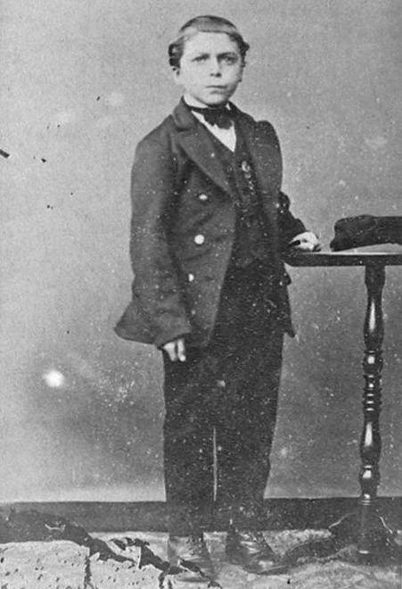 Jan van Dale op jonge leeftijd, circa 1845. (Zeeuwse Bibliotheek, Beeldbank Zeeland, reproductie)