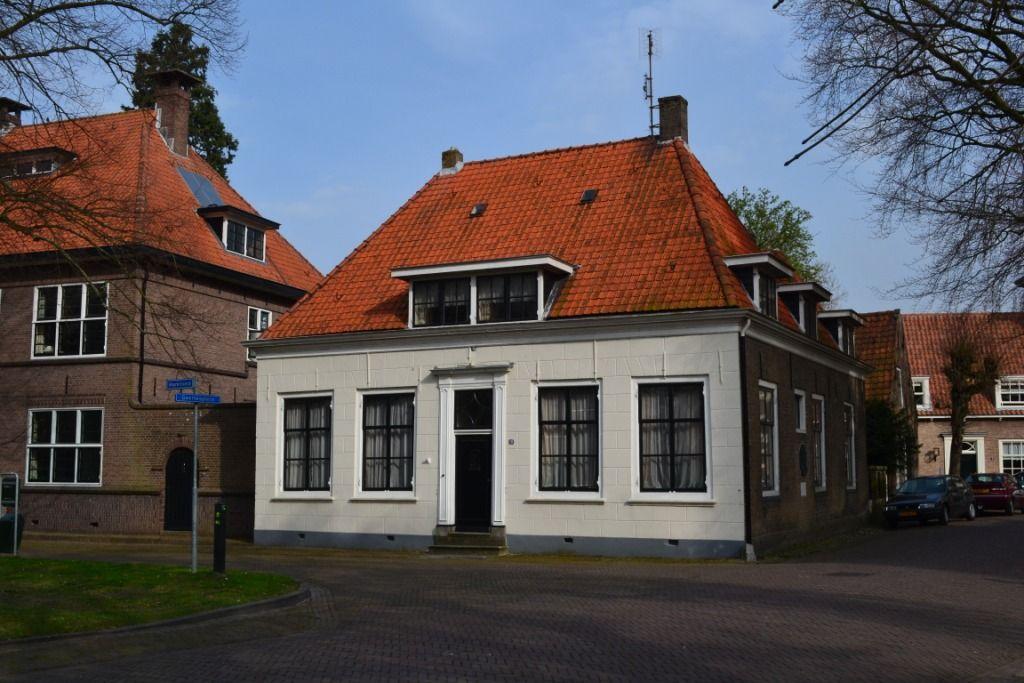 Het geboortehuis van Buys Ballot aan het Marktveld in Kloetinge. (Beeldbank SCEZ)