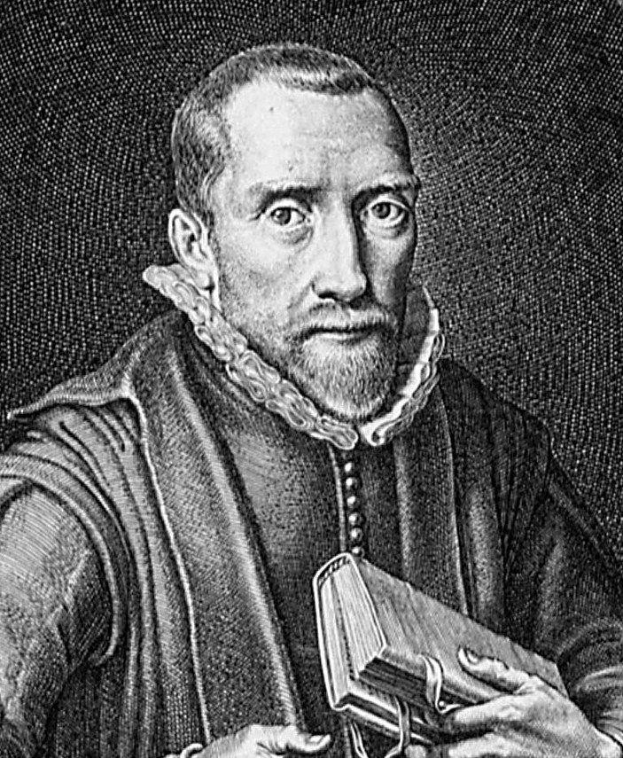 Willem Teellinck (1579-1629). Detail kopergravure door Petrus de Jode naar een schilderij van Adriaan van de Venne, 1621. (Zeeuws Archief, collectie Zeeuws Genootschap, Zelandia Illustrata)
