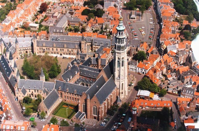 Abdij van Middelburg. (Zeeuwse Bibliotheek, Beeldbank Zeeland, foto Jaap Wolterbeek)