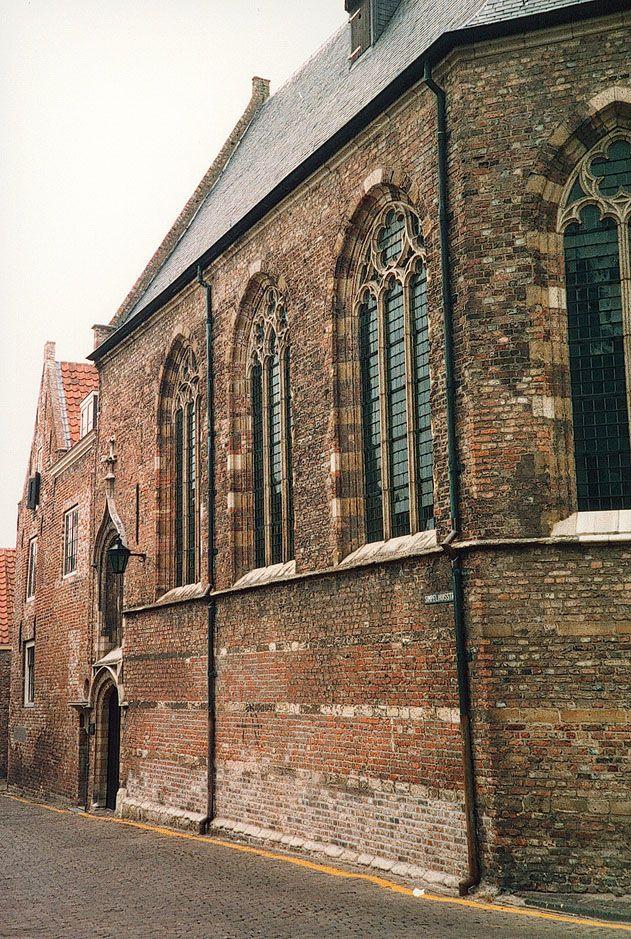 De Engelse kerk in de Simpelhuisstraat in Middelburg. (Zeeuws Archief, collectie P.S.G. Raas)