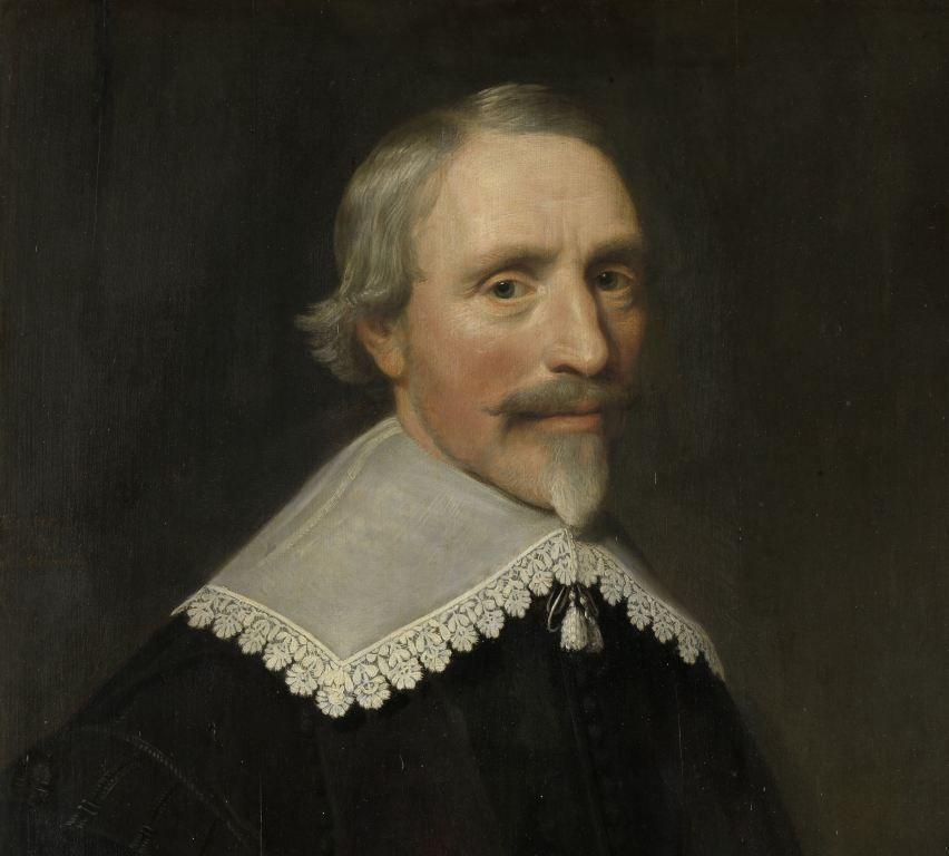 Portret van Jacob Cats door Michiel Jansz. van Mierevelt, 1639. (Rijksmuseum)