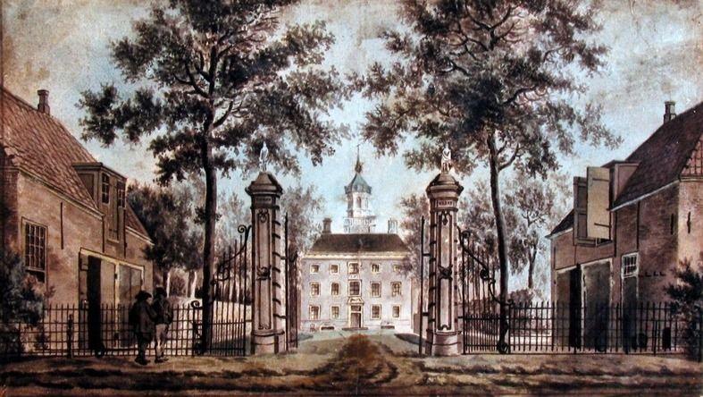 Toorenvliedt op een tekening uit de achttiende eeuw (ZB, Beeldbank Zeeland).