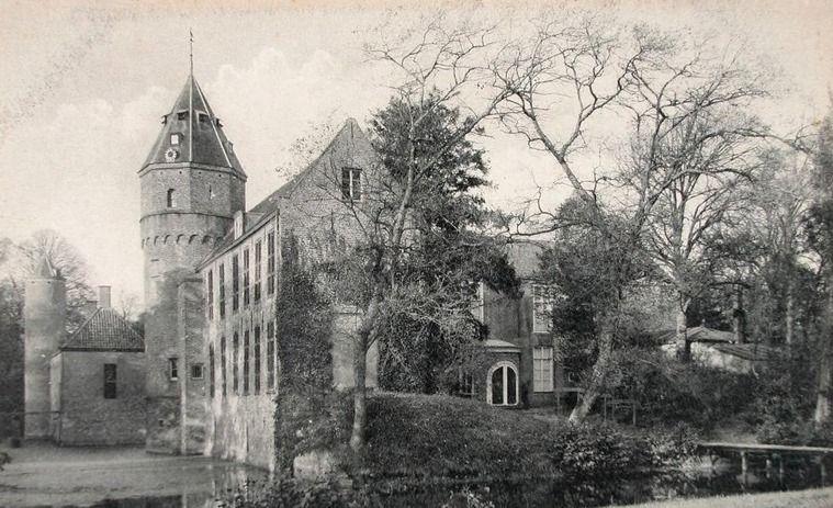 Westhove omstreeks 1920. Prentbriefkaart. (Zeeuwse Bibliotheek, Beeldbank Zeeland)