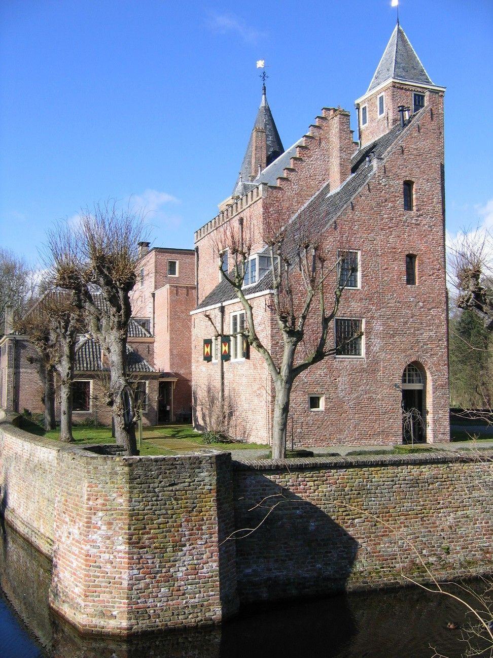 Slot Haamstede kreeg zijn huidige vorm in de 18de eeuw. (Beeldbank SCEZ)