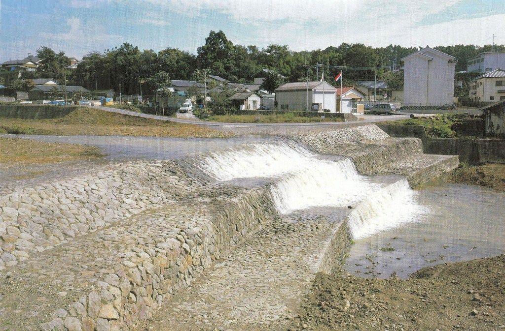 De Rijke Dam in Mima City, Tokushima. (foto Johan Hoenselaar)