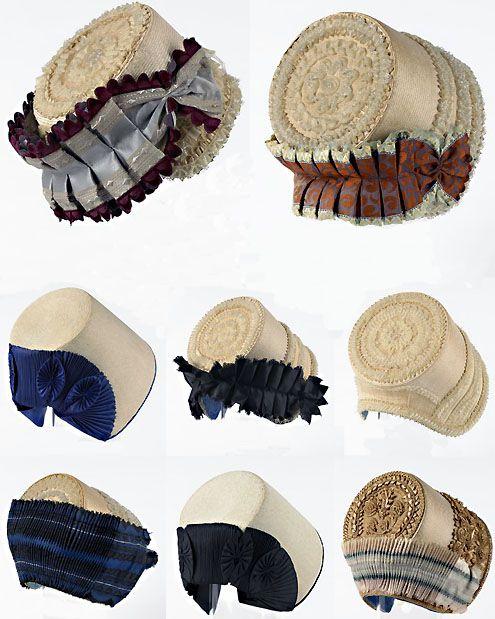Zuid-Bevelandse en Walcherse kaphoeden. (Zeeuws Museum en Zeeuws Museum-collectie KZGW, beeldcompositie Katie Heyning)