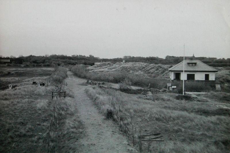 Zomerwoning Zonnehoek van de familie A. Timmerman Czn uit Zierikzee. Deze woning werd in 1934 gebouwd. (Zeeuwse Bibliotheek, Beeldbank Zeeland)