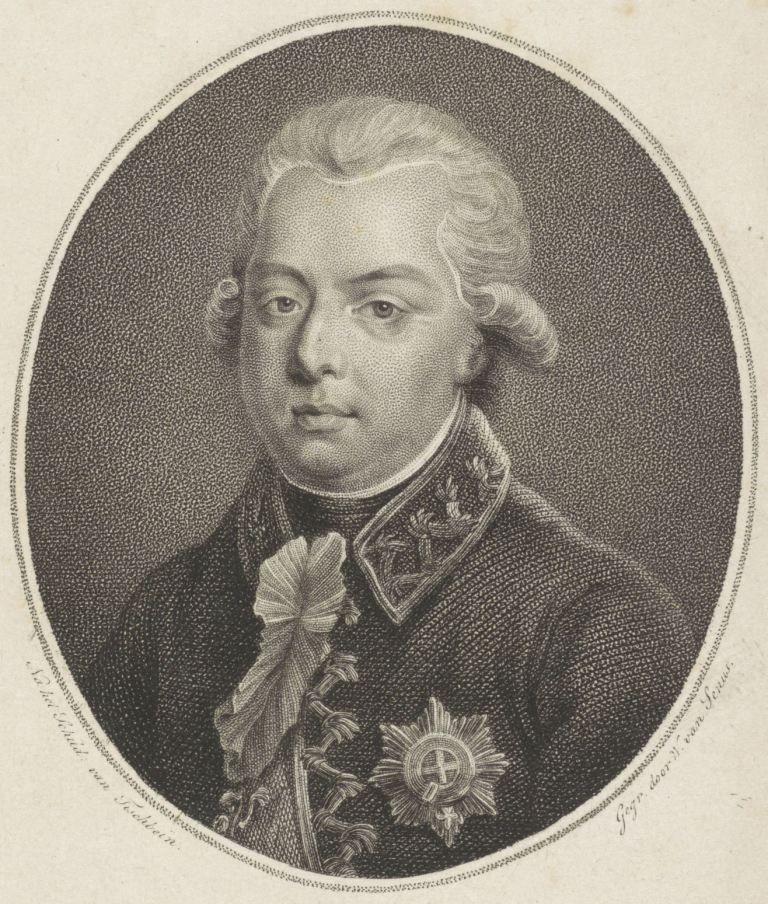 Portret van stadhouder Willem V. (Collectie Rijksmuseum)