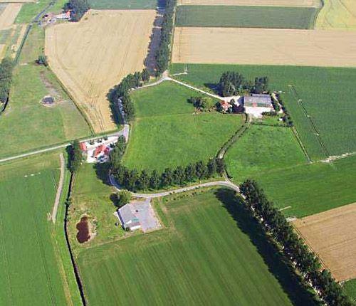 De Krabbeschans in Sluis. (foto Provincie Zeeland)