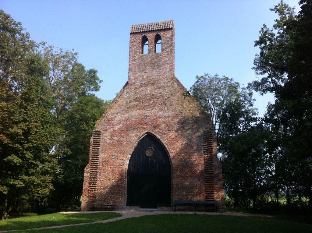 De huidige kapel van Hoogelande.