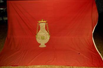 Kapersvlag van Vlissingen. (Zeeuws maritiem muZEEum)