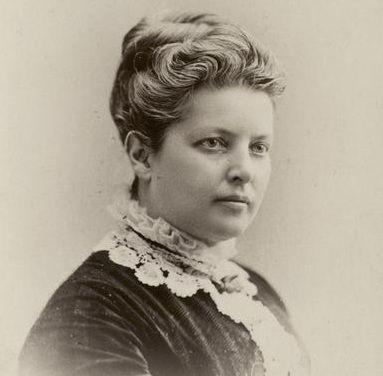 Mary Mapes Dodge, schrijfster van het kinderboek over Hans Brinker.