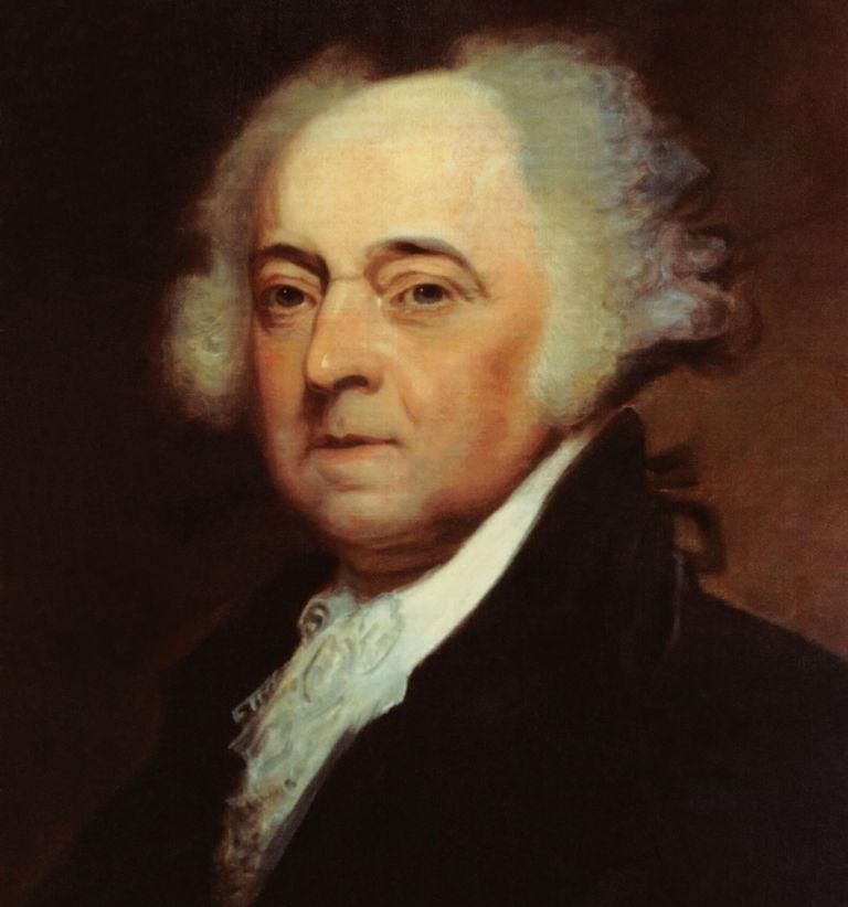 John Adams, Amerikaans gezant.