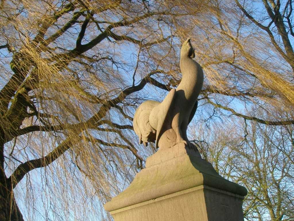 Monument met Gallische haan. (Beeldbank SCEZ)
