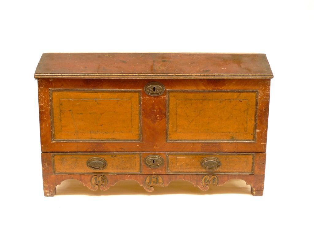 De kist van wagenmaker Luteijn in Koudekerke. (Foto Nederlands Openluchtmuseum)