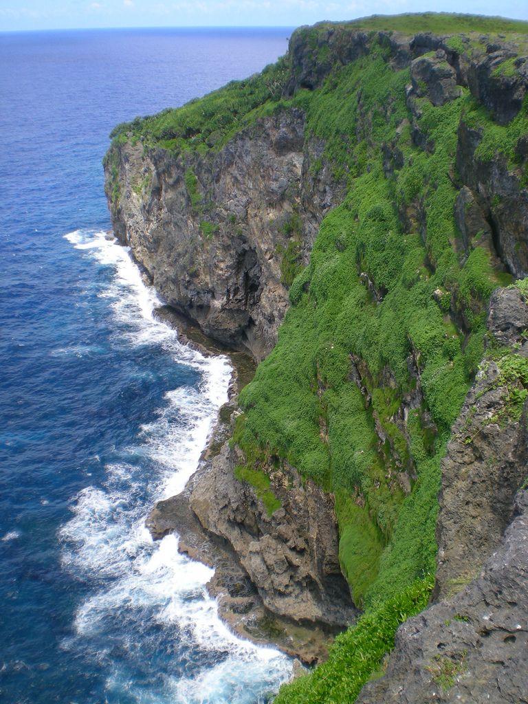 Het eiland Eua, dat ooit 'Middelburg' heette. (Foto Boris Johnson)