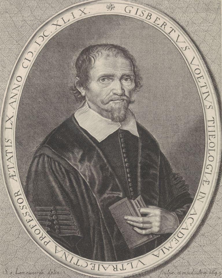 Portret van Gisbertus Voetius, 1649. (Rijksmuseum)