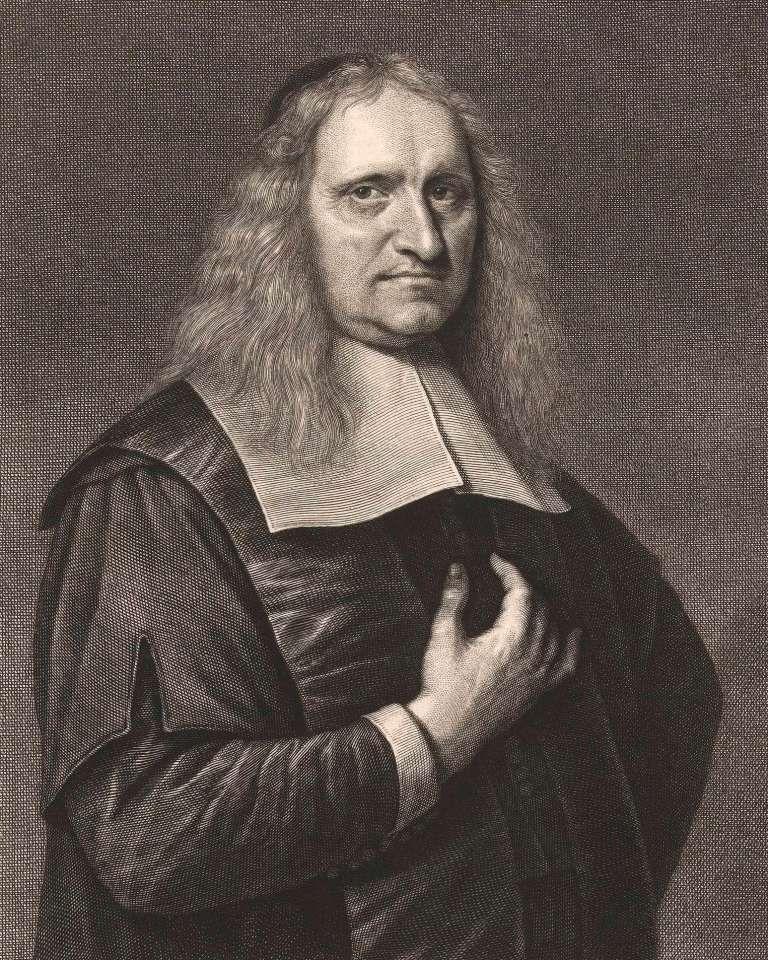 Portret van Johannes Coccejus, 1655-1678. (Rijksmuseum)