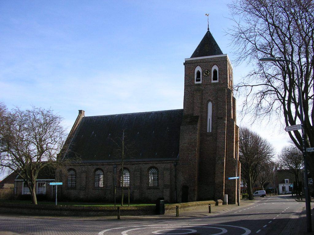 De Odulphuskerk in Meliskerke.
