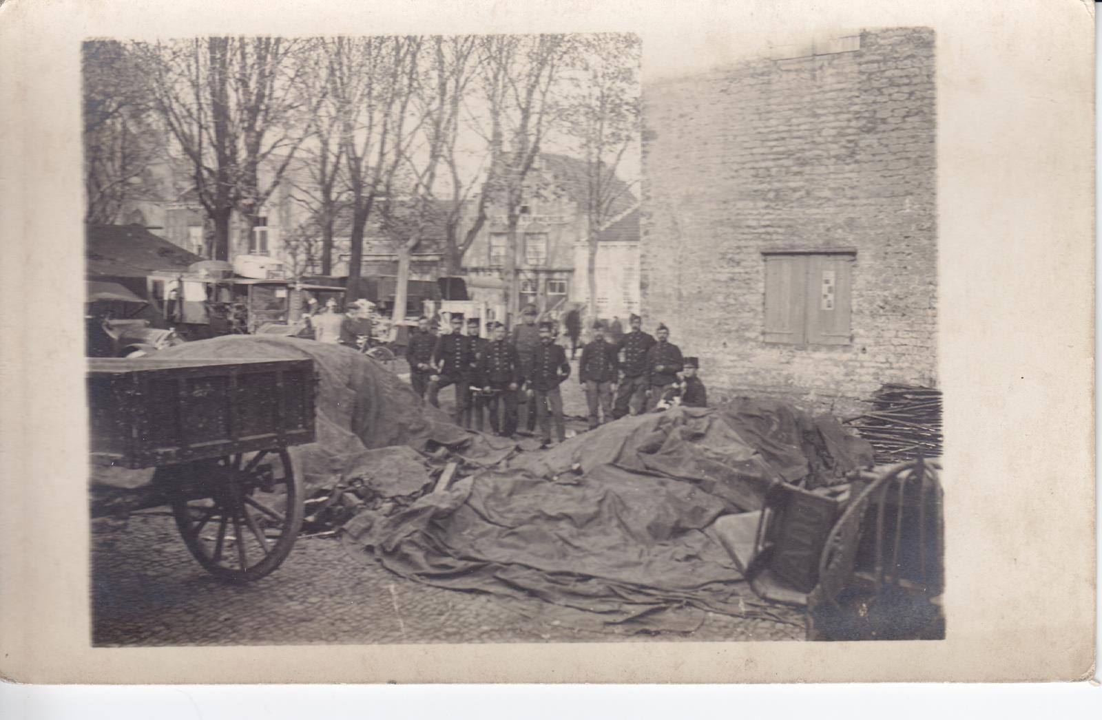 Grenzen aan een grenzeloze oorlog: Hulst, najaar 1914
