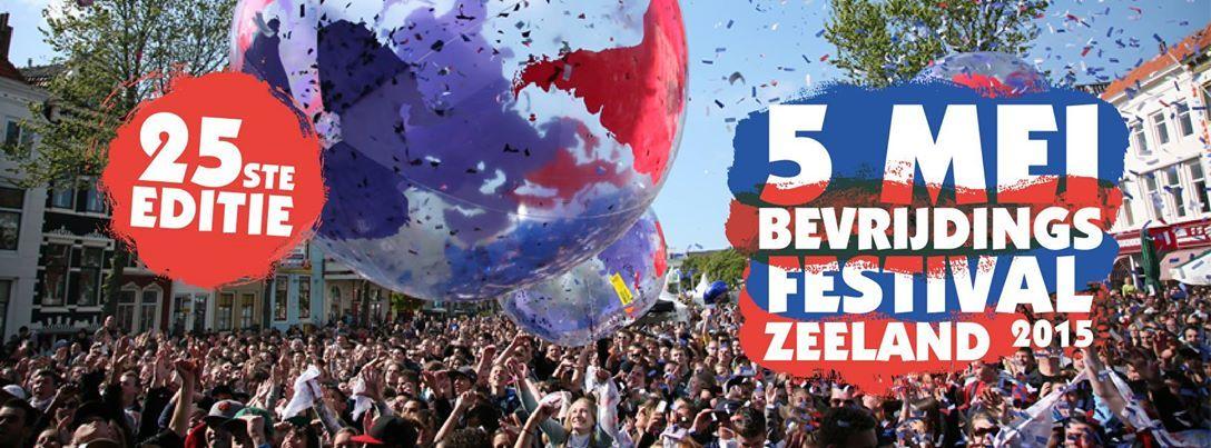 Met het 25ste Bevrijdingsfestival was Zeeland in 2015 gastprovincie voor de Nationale Viering van de Bevrijding