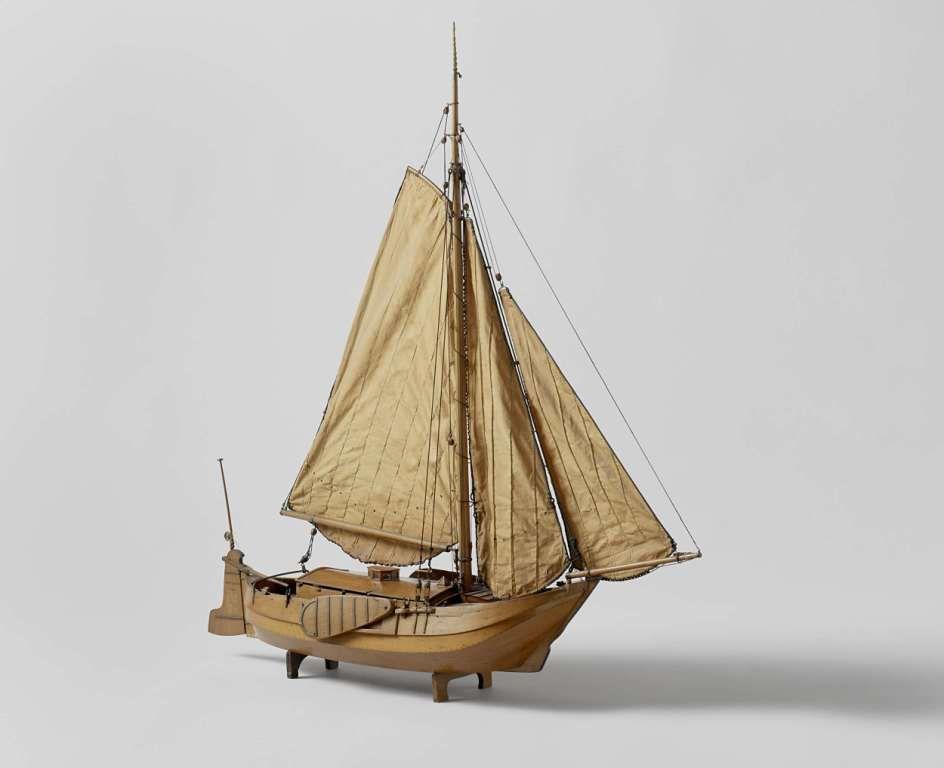 Model van een hengst, 1819. (Rijksmuseum)