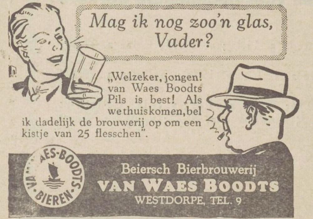 Advertentie in De Stem, 22 juni 1946. (Zeeuwse Bibliotheek, Krantenbank Zeeland)